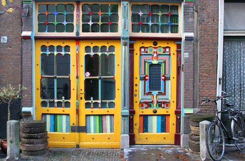Psychedelic House, Leiden by Karl O'Brien.