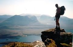Blue Heatwave Hills (andywalker1) Tags: scotland sutherland rockclimbing andrewwalker assynt benmorecoigach andywalker coigach stacpoldaidh