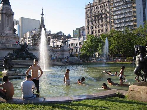 Plaza del Congreso, Buenos Aires, Argentina
