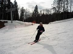 James turning the white stuff (vfowler) Tags: winter snow japan skiing hiroshima     megahira