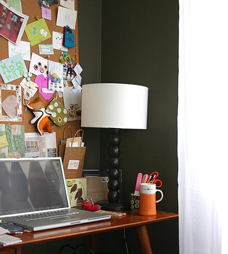 my desk corner 2