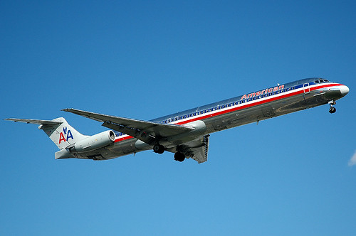 American Airlines MD-82 N455AA by caribb.