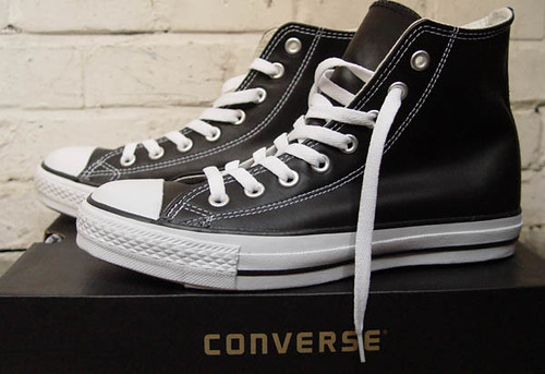"Converse ""chuck taylor"" All Star Leather Hi02"