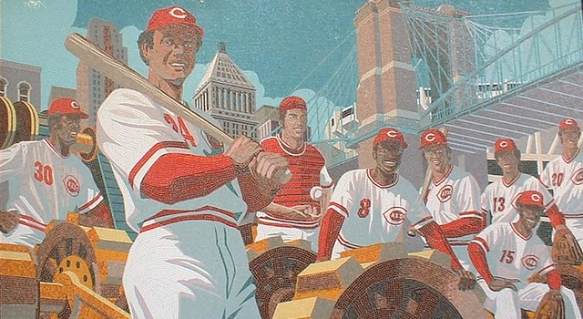 Big Red Machine, Great American Ballpark