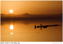 Sunset_1772 (SFMONA) Tags: sunset red sea terrain mountain reflection golden desert socal pollution southerncalifornia salton abigfave