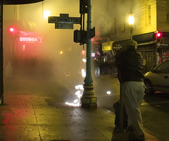 _1271506 (ec808x) Tags: sanfrancisco street city longexposure nightphotography buddhabar night lights chinatown fireworks streetphotography olympus lunarnewyear firecracker