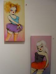 missVan03 (BIGAWK) Tags: show street art painting paint gallery van miss levine