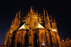 Night View of Prague Castle