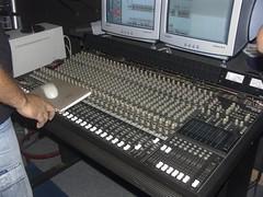 The studio board.