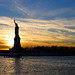 Lady Liberty at Dusk