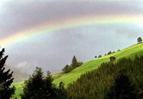 Rainbow upon alp