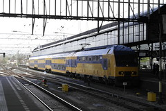 DDZ 7511 ([Publicer Transport] Ricardo Diepgrond) Tags: ns ddz nid 7511 dubbeldekszone nieuwe intercity dubbeldekker trein haarlem station sprinter amsterdam centraal