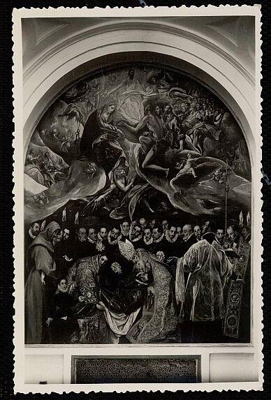 Entierro del Señor de Orgaz. 1954, Foto Garrabella