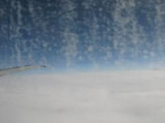 IMG_3465 (cudmore) Tags: blue england sky snow france clouds airport flight wing barbados gatwick dirtywindow 2kmeofplanfoy