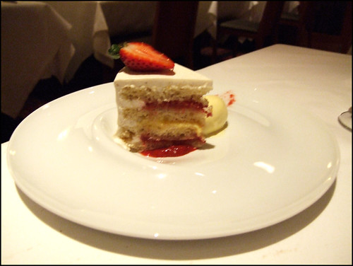 Manresa (Los Gatos) - Meyer Lemon & Buttermilk Cake