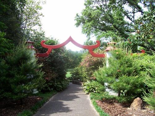 Entrance to Oriental-American Garden