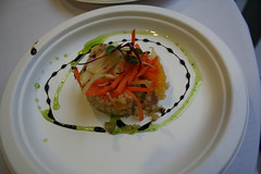 Shaved Fennel, Orange, and Quinoa Timbale