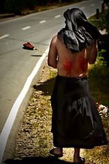 penitensya6 (Edwin_Martinez) Tags: pain blood philippines religion whip filipino suffering pinoy customs forgiveness holyweek tamron2875mm flagellation lentenseason senakulo penitance edwinmartinezcanon30d