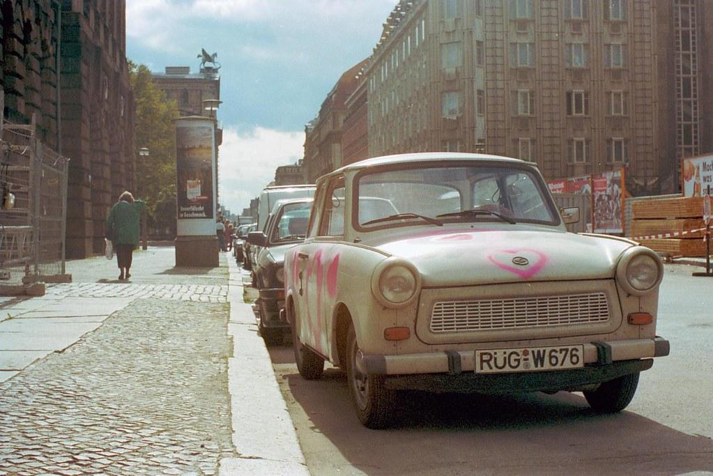 Charlottenstrasse, Berlin, 1992
