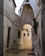 Puglia - Ostuni: vicolo (Lonelywolphoto / Dan Enrietti) Tags: italy alley europa europe italia vicolo puglia hdr italians ostuni borgoantico sonyalphadslr