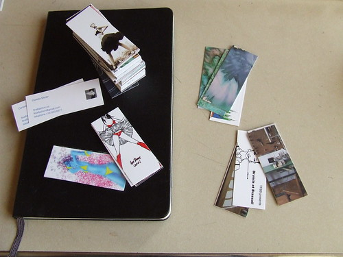moo cards and moleskine