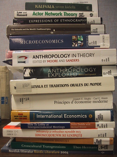 Academic Book Stack