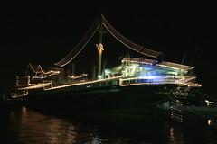Ship (OiMax) Tags: light japan night geotagged harbor ship zoom yokohama geo:lat=35446038 geo:lon=139650269