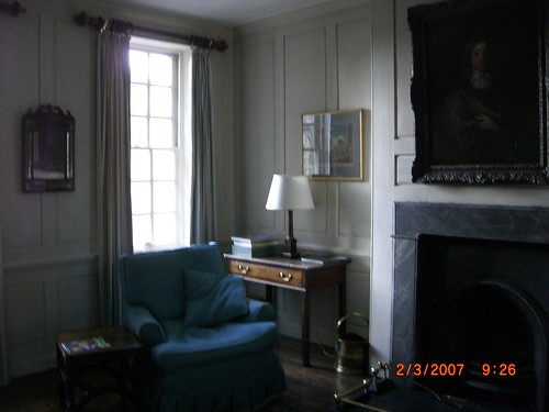 Sitting room at Marshall Wade's House by Woolmark