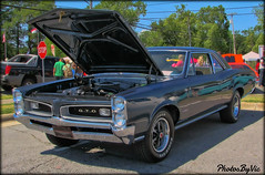 '66 Pontiac GTO (Photos By Vic) Tags: 1966 66 pontiac gto musclecar automobile antique vehicle vintage old classic car carshow generalmotors