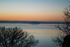 Sunset Lake (Jethro_aqualung) Tags: sunset trasimeno lago umbria italia italy outdoor nature water castiglion nikon d3100