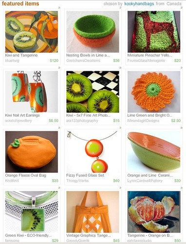 Kiwi and Orange Treasury