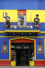 Caminito: Muñecos / Dolls #5 (Gardel, Evita, Maradona) - by ClixYou
