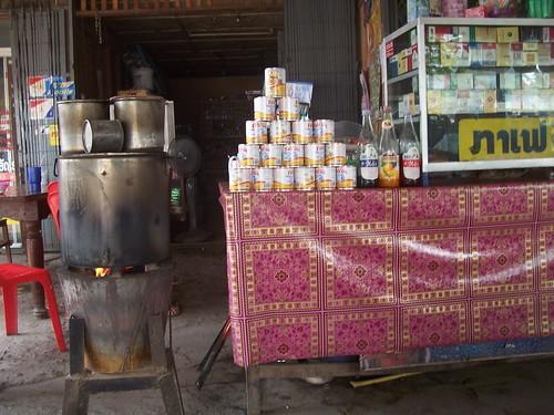 דוכן קפה לאו בלאוס. צילום: Electrostatico