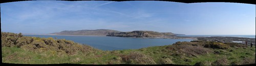 Panoramic from Worm's Head