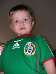 Nathan Mexico soccer jersey