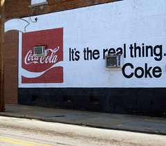 Coke is the real thing