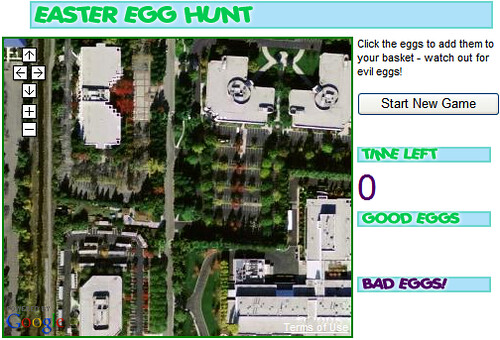 Google Easter Egg Hunt