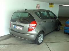 My Car (madh) Tags: cameraphone germany mercedes hertz aclass