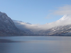 Easter Norway (julia_ho) Tags: sky mountain water norway clouds norge norwegen berge stryn fjell