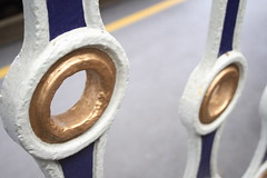 Two gold rings (rbrwr) Tags: uk england station digital geotagged platform kitlens railwaystation devon exeter exeterstdavids 400d efs18553556 geo:lat=50729393 geo:lon=3543777