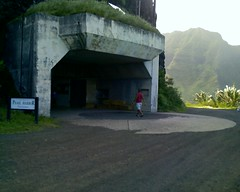 WWII Bunker at Kualoa Ranch
