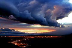 sunsetcloud city (artfilmusic) Tags: city clouds lights