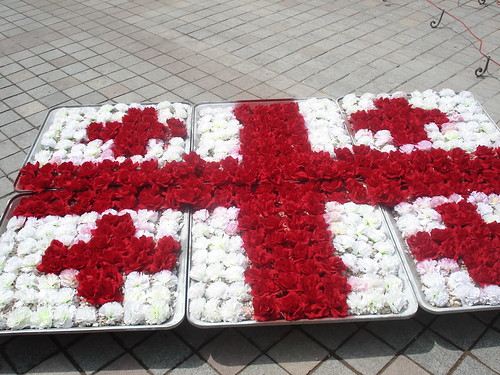 Georgisk blomsterflagga