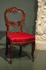 Red Chair (Eric Hunt.) Tags: nyc newyorkcity red art museum chair manhattan themet metropolitanmuseumofart