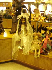 Scary Zombie Bride Doll