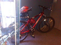 My new ride parked at the office