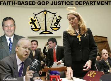 Faith-based GOP Justice Department
