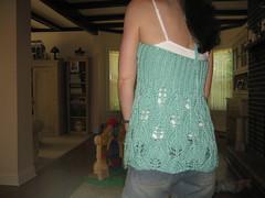 Hampton's Halter (mrsmattesky) Tags: knit twinkle halter