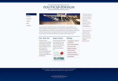 Politics by Design - Political Design Done Right