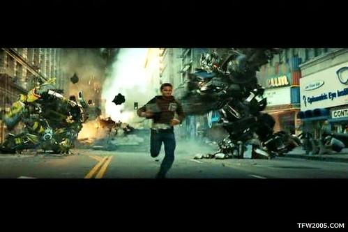 Pelicula de Transformers: Corre Sam
